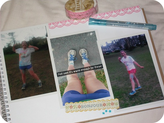 Colour Run Scrapbook Page 2
