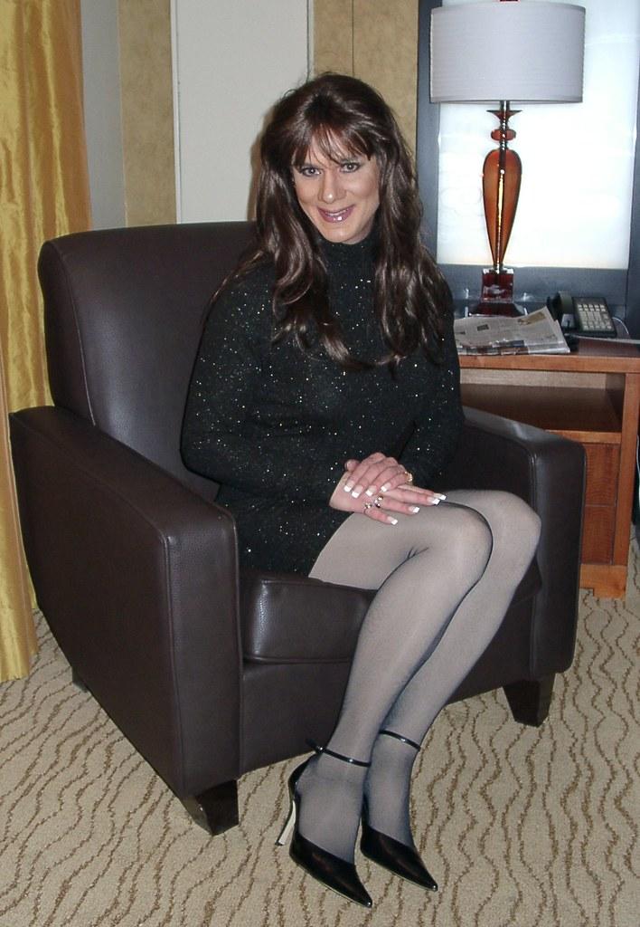 Black Sparkle Dress  Blonde Or Brunette  Michelle -2708