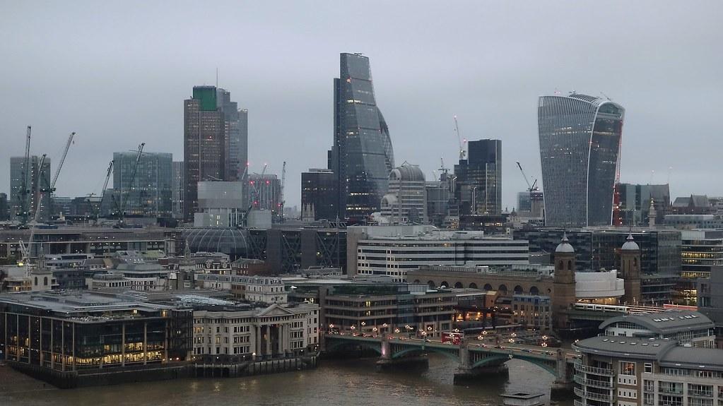 Modernity, London skyline