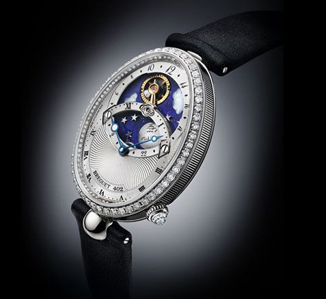 Breguet Reine de Naples day/night display ladies watch
