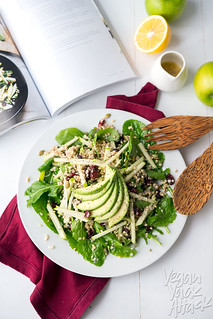 Buckwheat Green Apple Cranberry Avocado Salad | by Yack_Attack