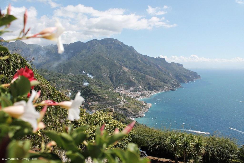 Ravello, vista da Villa Rufolo