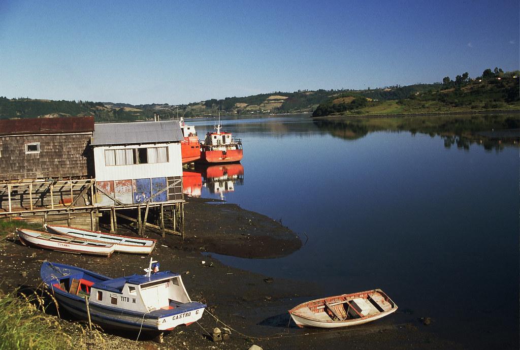 Vagamundos 2003. Chile. Isla de Chiloé