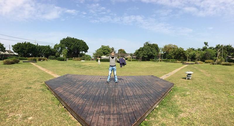 民雄日式招待所-模擬棒球場