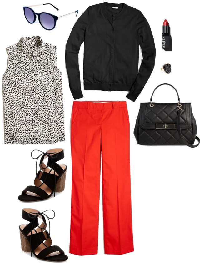 What I Wish I Wore, Vol. 171 - Black and Bold | Style On Target blog