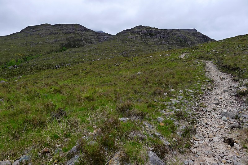 On the path above the Fionn-abhainn