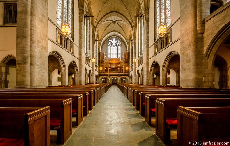 Rockefeller Chapel - Looking at Nave and Rear