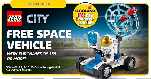 LEGO Shop LEGO City Space Vehicle Promotion