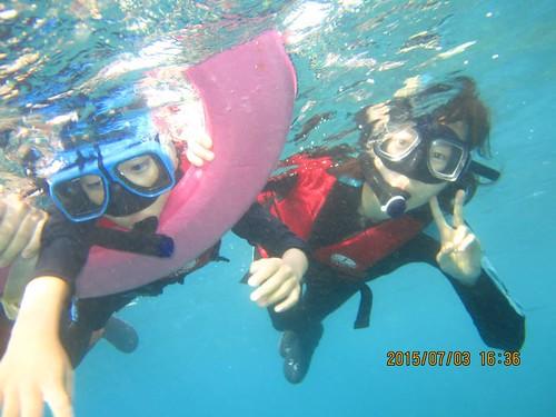 小琉球浮潛