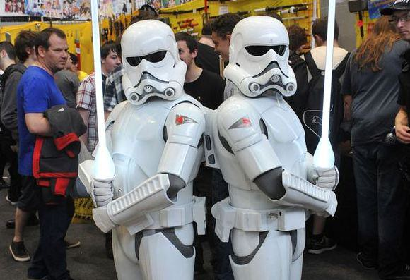Manchester MCM Comic-Con 2015 - Star Wars Ralph McQuarrie Stormtroopers