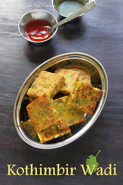 kothmbir vadi