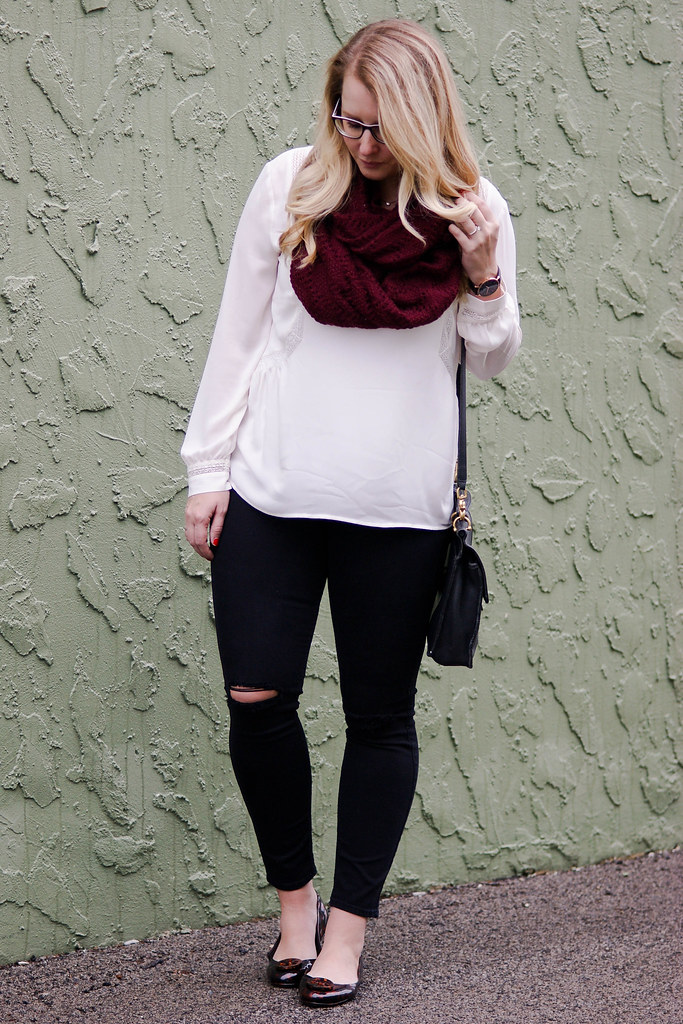 LOFT - Split Neck Tunic