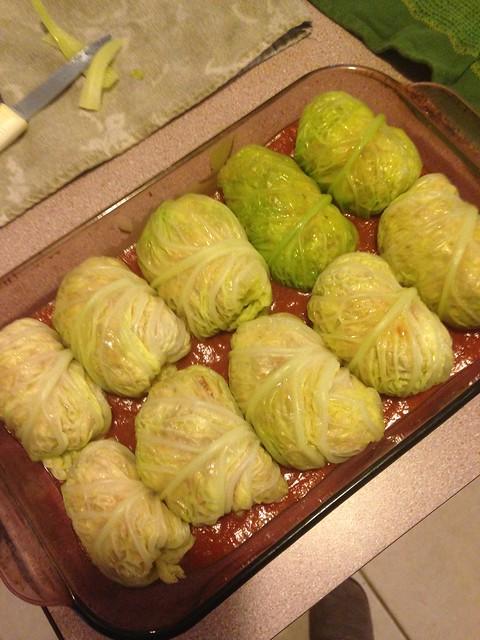 Golumpki preparation