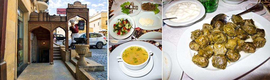 Baku Restaurant Menu