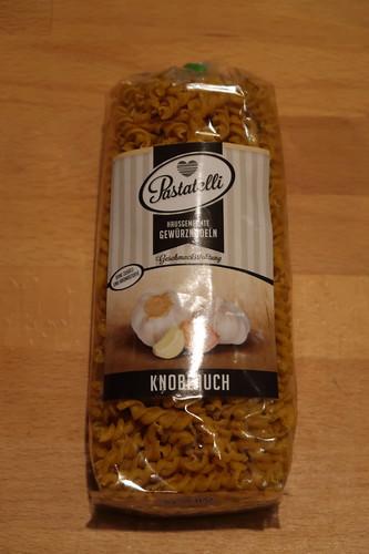 Knoblauch-Nudeln (von Pastatelli)
