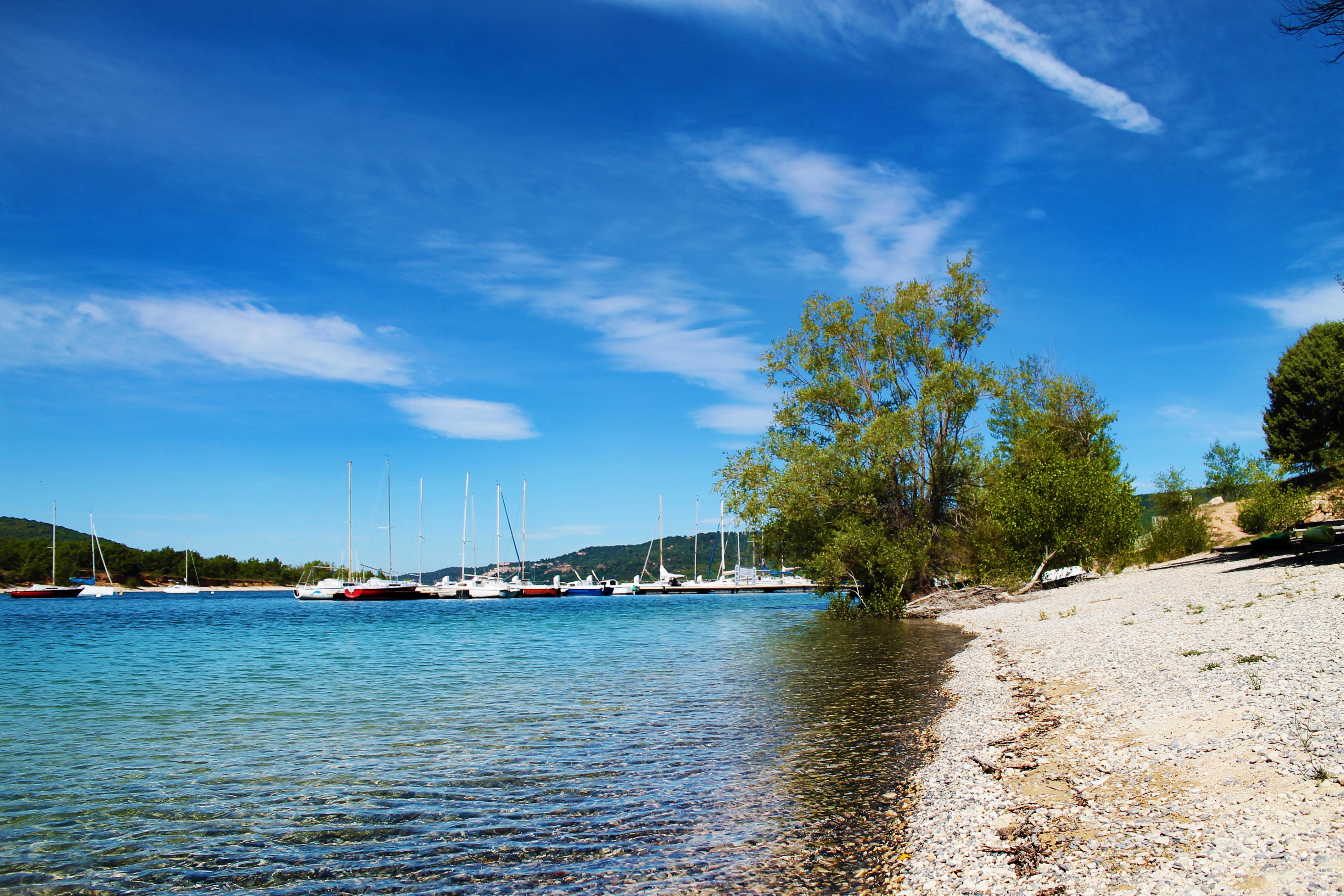 Roteiro de viagem pela Provença - Lac de Sainte-Croix