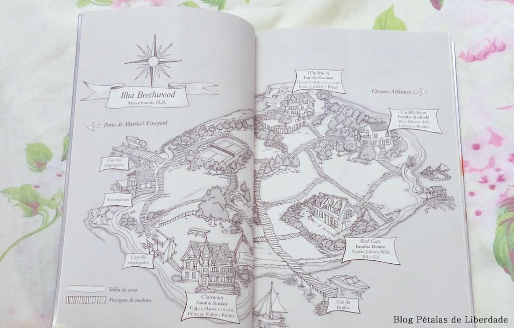 mapa-da-ilha, livro, mentirosos