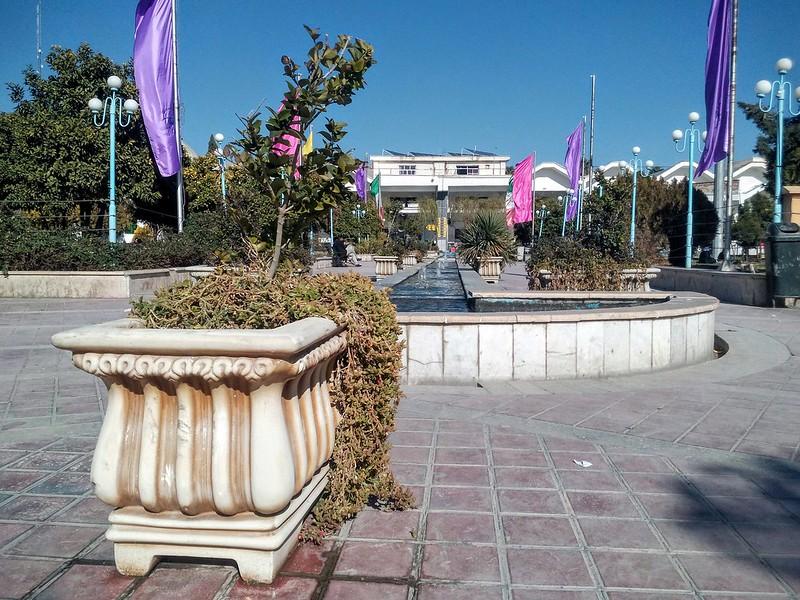 Автобусная станция в Ширазе