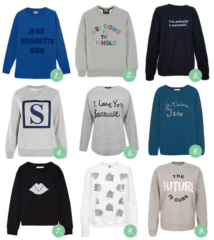 Slogan Sweaters