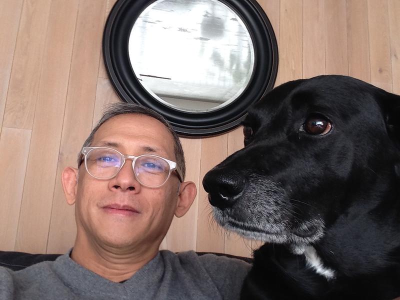 Jappy Gonzalez with Coco