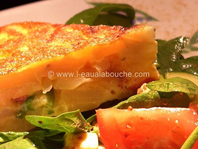 Tortilla de Patates au Chorizo & Piments © Ana Luthi Tous droits réservés 16