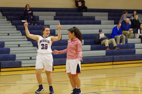 Girls Basketball JV vs FC