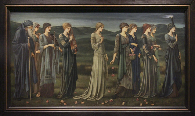 Psyche's Wedding, Edward Coley Burne-Jones