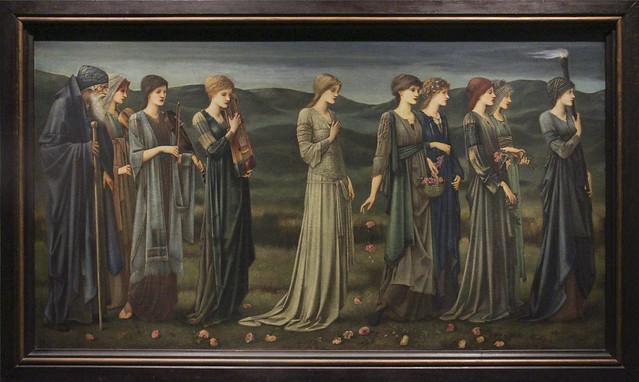 Psyche's Wedding, Edward Coley Burne-Jones
