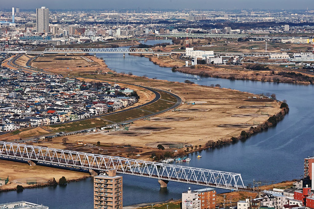20170126_05_千葉県市川市のアイ・リンクタウン展望施設からの眺望