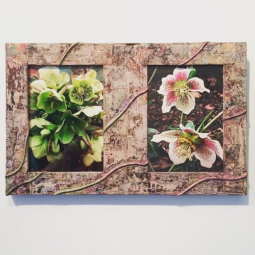 Commissioned Paper Frame - Dani Crompton Designs