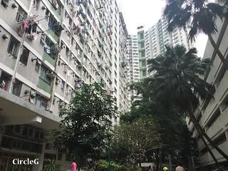 CIRCLEG 遊記 香港 屯門 菠蘿山 良景邨 日落  (1)