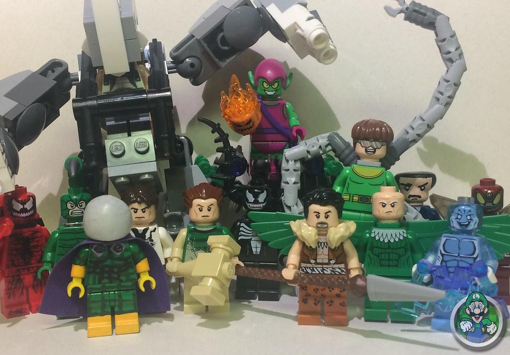 Lego Spiderman Malvorlagen Star Wars 1 Lego Spiderman: My Lego Spider-Man Rogues Gallery!