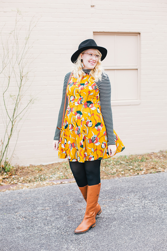 austin style blog tissue turtleneck layered modcloth dress13