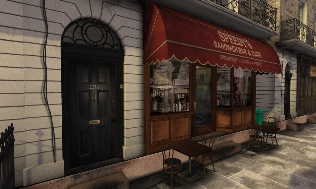 221b Baker Street For All You Sherlock Fans By Darius
