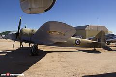 Z9592 - 10076 - Royal Air Force - Fairchild Bolingbroke IVT (Bristol 149 Blenheim IV) - Pima Air and Space Museum, Tucson, Arizona - 141226 - Steven Gray - IMG_8015