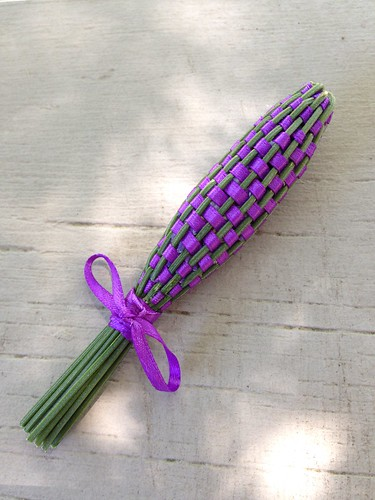 Lavender wand done!