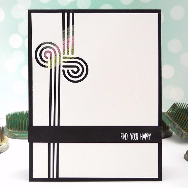 Find Your Happy by Jennifer Ingle #justjingle #simonsaysstamp #cards #crafts