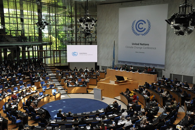 Photo of Bonn Climate Change Conference, June 4 2015