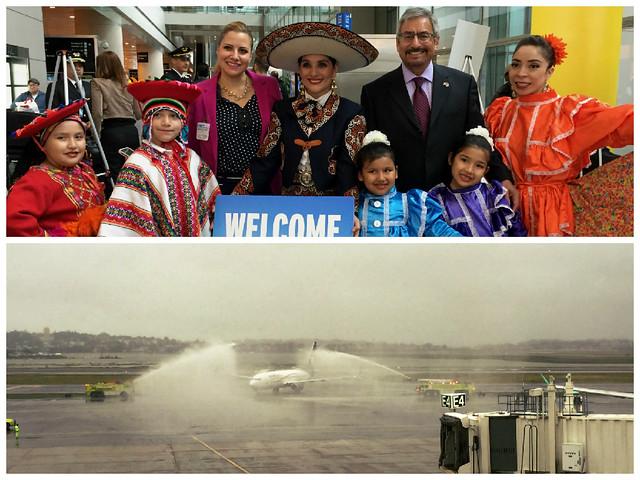 Inicio de operaciones vuelo directo Boston-Ciudad de México