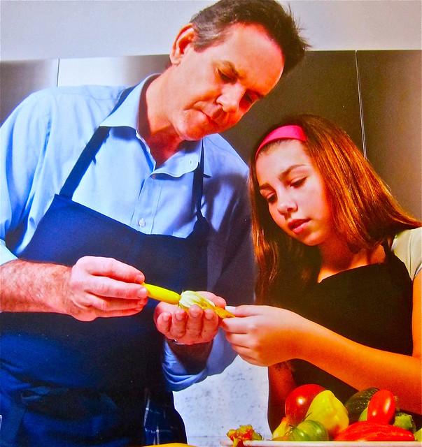chef thomas kelelr an niece Elisabeth
