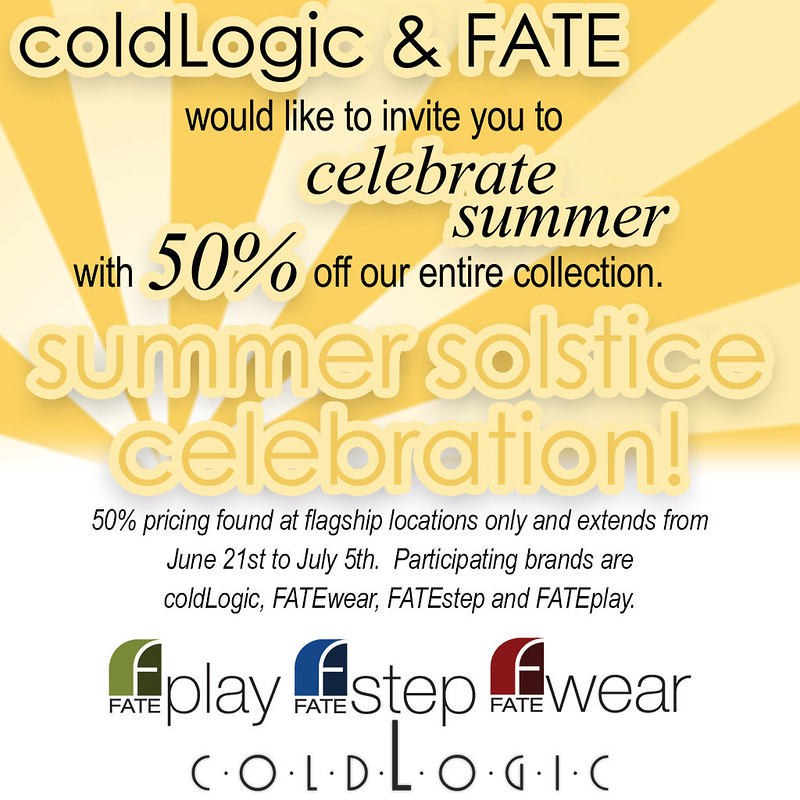 Coldlogic and Fate Sale
