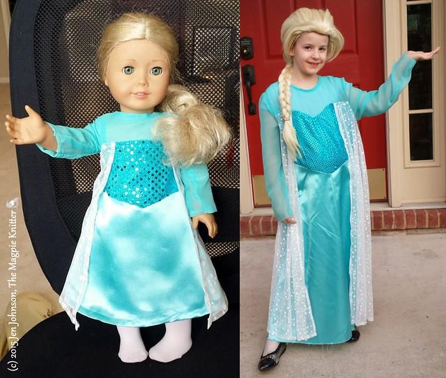 AG Elsa costume copyright