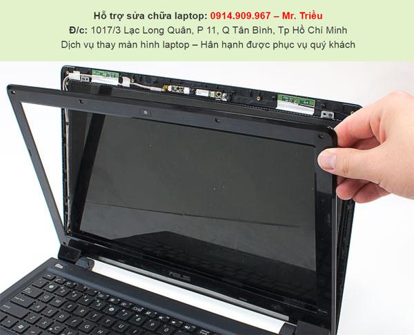 Tổng hợp các hư hại của màn hình laptop và giới thiệu chỗ thay màn hình laptop chính hãng tại SG