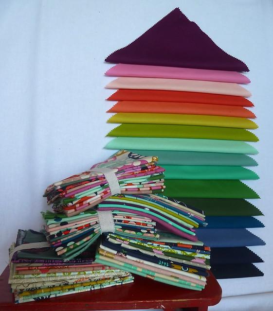 Kona Cotton, Cotton & Steel, Mochi, Playful, Tokyo Trainride, Mesa, Cookie Book,