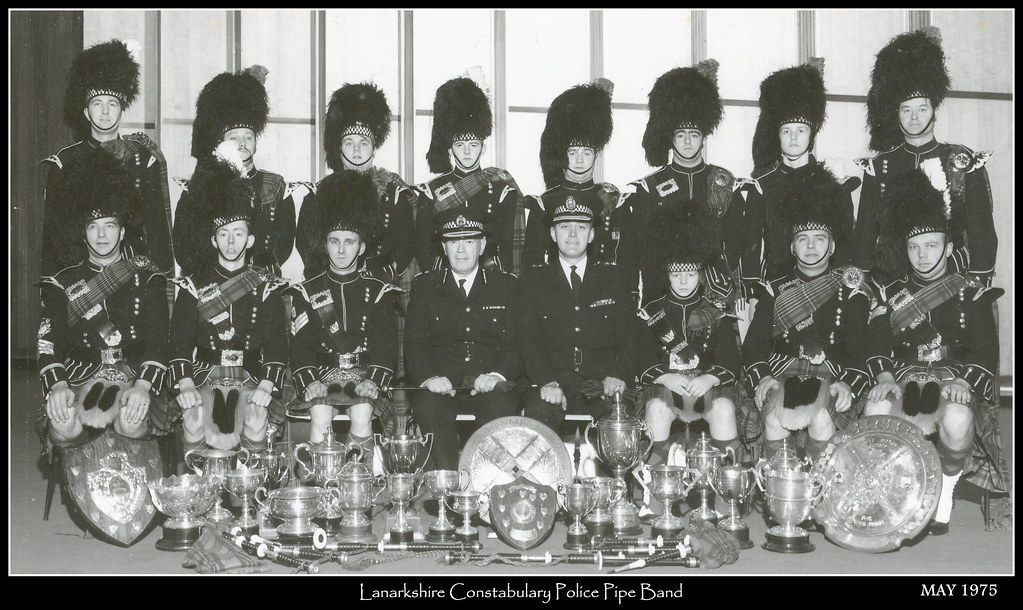 Lanarkshire Constabulary Police Pipe Band | From the ...