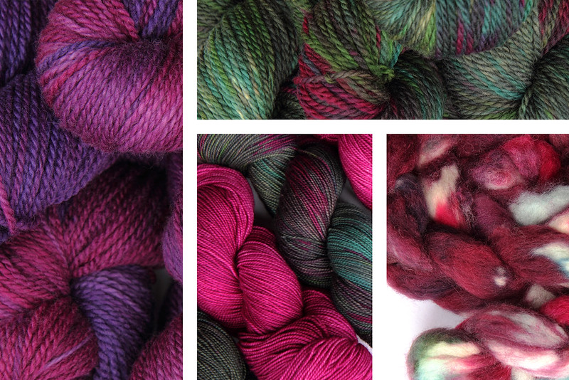 Preview of the latest batch of hand dyed yarn