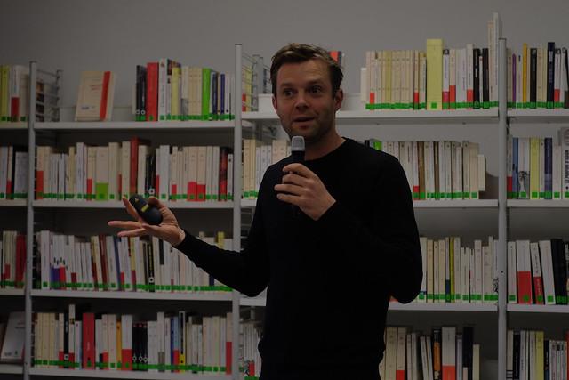 Bas Smets à l'Institut français de Saint-Pétersbourg