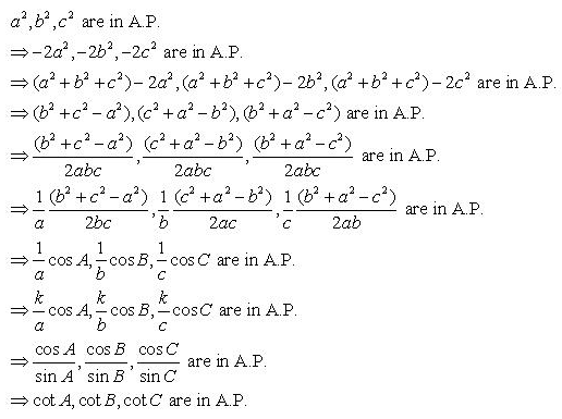RD-Sharma-Class-11-Solutions-Chapter-10-sine-and-cosine-formulae-and-their-applications-Ex-10.1-q27