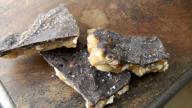 Salted Peanut Pretzel Toffee 24