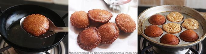 How to make Karupatti Paniyaram Recipe - Step7
